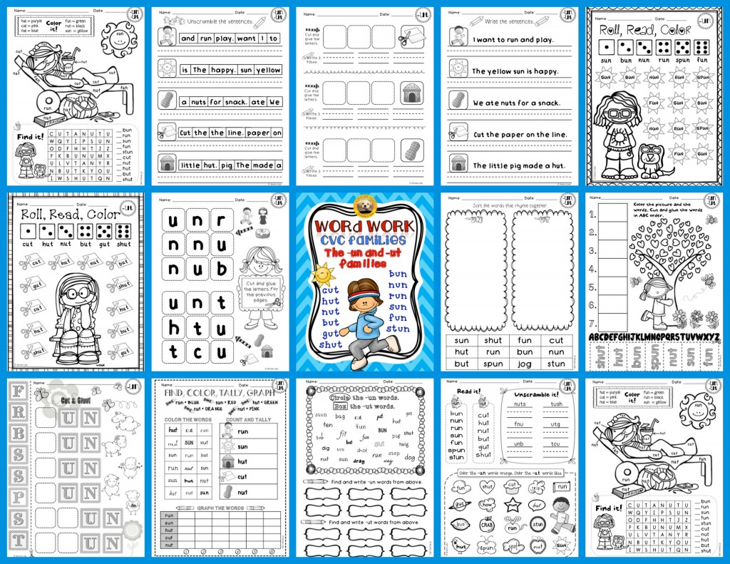 1st Grade Summer Worksheets | Free Printable Math Worksheets - Mibb ...