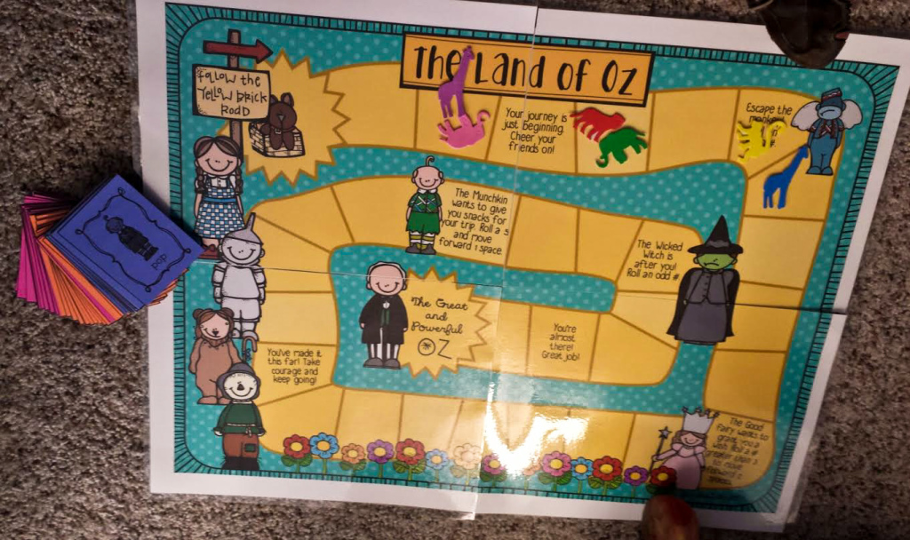 The Land of Oz Board Game